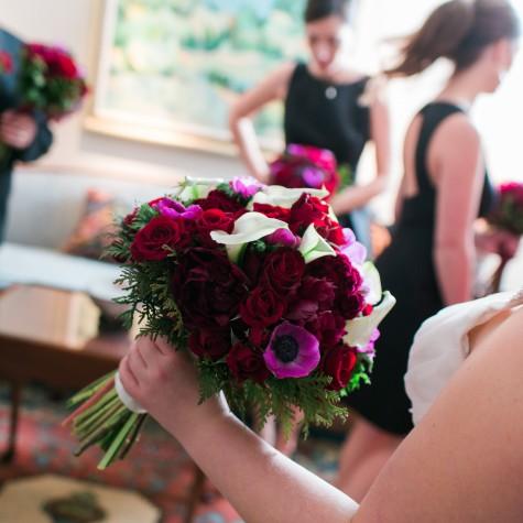 Hotel Roanoke Christmas Wedding 1