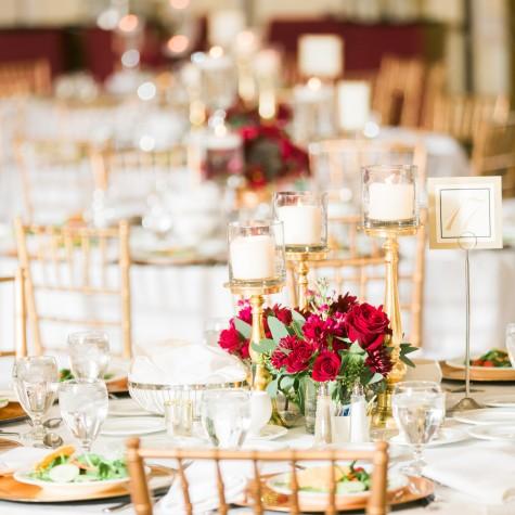 Hotel Roanoke Christmas Wedding 5