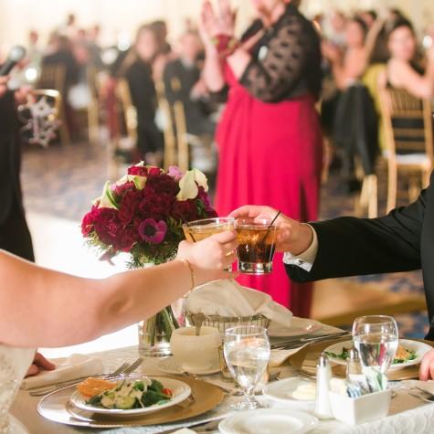 Hotel Roanoke Christmas Wedding 6