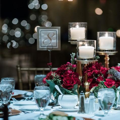 Hotel Roanoke Christmas Wedding 7