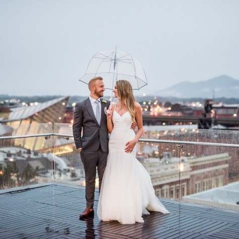 Organic Rooftop Wedding 1