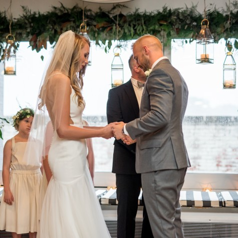Organic Rooftop Wedding 7